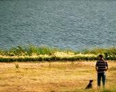 Man's Best Friend - 8x10 photograph