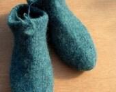 Felted Slipper Socks Reserved for Natalie.