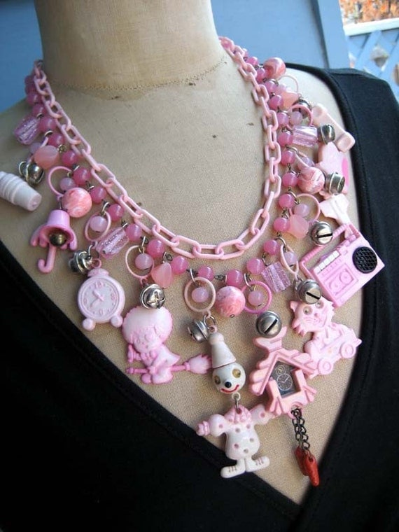 Childs Play - A Vintage Toy Necklace for the Young at Heart RESERVED