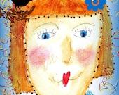 """KS-Original Watercolor Artwork Print 5X7"""" or Greeting cards"""