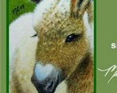 Donkey Bookmark From Original Painting by Melody Lea Lamb