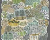 terrarium archival print