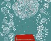 raincloud archival print