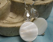 Classic Crystal and Cream Dangles