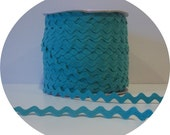 15 Yards of 1/2 inch wide Ric Rac AQUA