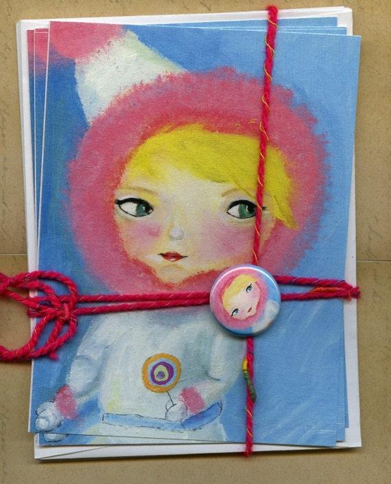 candy fairy....postcard set