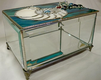 Stained Glass Box Over-Sized for Display, Jewelry, Special Collections, Etc.....