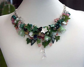 NECKLACE POISON IVY - Limited Edition - The much talked about Katherine Cooper's Poison Ivy