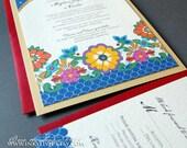 NEW: The Talavera Wedding Invitation Sample Set