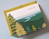 RESERVED for notroger- 200 sets Jillian thank you cards