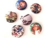 Pack of 6 Custom Magnets