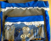 Reserved for Ichijin-Upcycled Owl Bag-Free Shipping