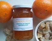 Orange and Ginger Marmalade GINGERSNAP Seville oranges and crystallised ginger