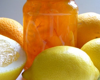 Three Fruit Marmalade  Seville Orange Grapefruit Lemon