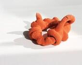 Crochet root bangle - Korneplod - reserved for T