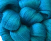 Merino Wool Top for Spinning or Felting - 1 ounce - Peacock