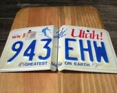 Utah License Plate CD \/ DVD Holder
