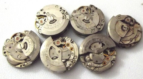 M 7 Small Vintage Automatic Watches. ORIENT Brand.  Spinning Rotors  (a7-3)  REDUCED AGAIN