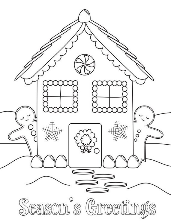Happy Holidays Coloring Pages Printable Happy Holidays Coloring Pages