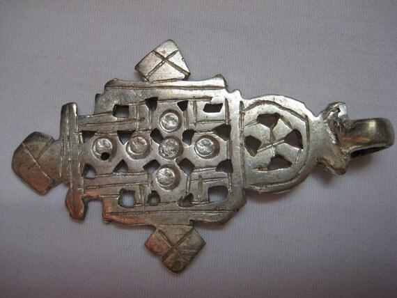 Ethiopian metal Coptic Cross