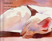 Siamese Cat Soft Cover Book of my  Watercolor Paintings
