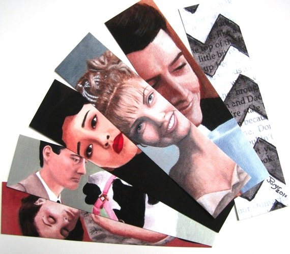 Twin Peaks Bookmarks - Set of 6