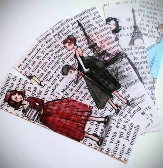 French Literature Bookmarks - Set of 6