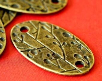Sale 6pcs Antique Bronze Oval Links EA10928Y-AB