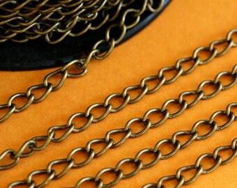 10 Feet Antique Bronze Twist Chains CH-1.0DK-AB