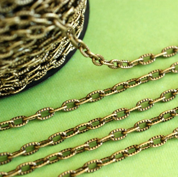 2.5 Feet Antique Bronze Cross Chains CH-1.2YHSZ-AB