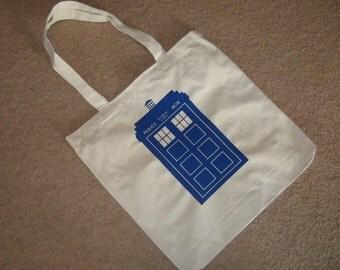 Blue box bag