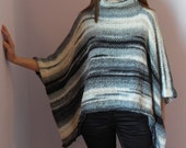 Hand Knitted Poncho/Sweater