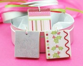 Tween Scene Collection - Winter Holiday - Triple Ribbon Necklace Set