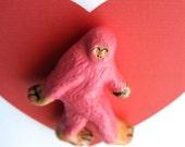 Pink BigFoot Magnet