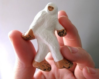 Abominable Snowman Pin