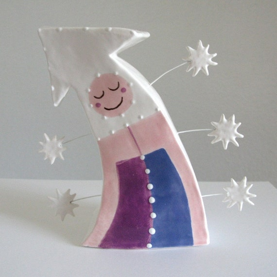 The Direction of Happiness - ceramic sculpture