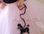 Poodle Tutu Skirt You choose color and size AngelBabes
