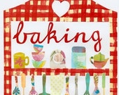 Kitchen Art Print I Love Baking
