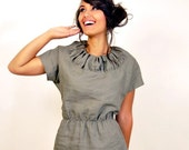 Marie Linen Mini Dress