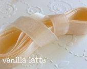 Creamy Vanilla Latte Ribbon