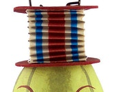 Patriotic Melon No. 2 vintage style paper accordion ornament