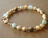 New Jade and Pearl Bracelet