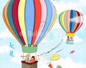 Up, Up and Away Fine Art Print