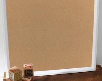 40cm by 40cm Bespoke White Wooden Frame