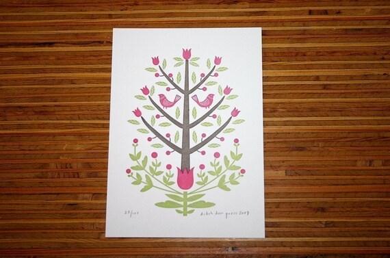 tulip tree print