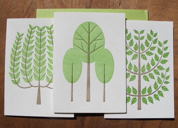 tree note set (multi set of 6)