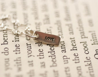 tiny Love necklace