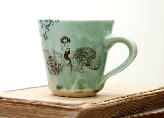Espresso Cup - Mermaid