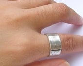 Fine Silver Band Aid Ring