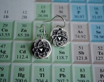 Atomic Love Earrings